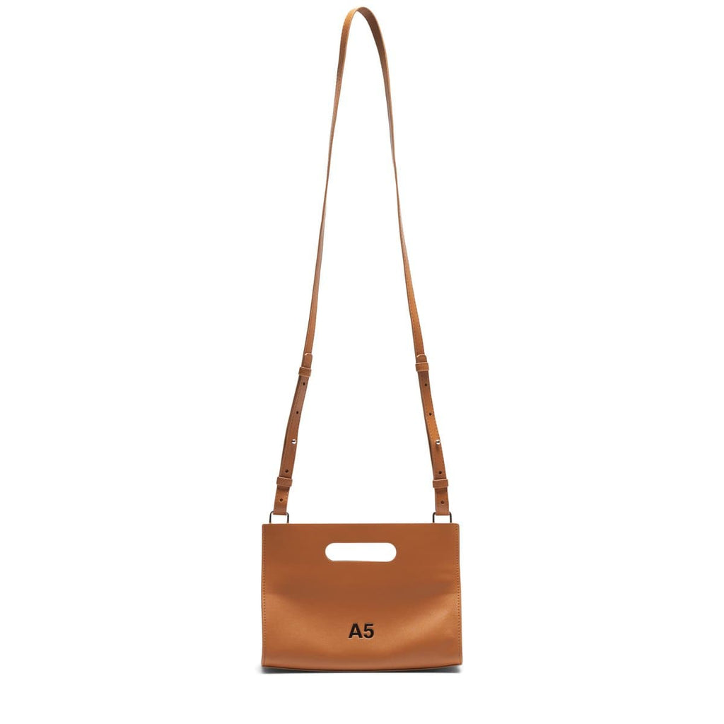 nana-nana Bags & Accessories CAMEL / O/S / NA-C-035 RECYCLE LEATHER A4