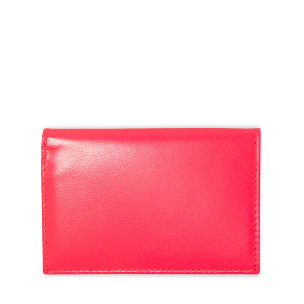 Comme Des Garçons Wallet Bags & Accessories PINK / O/S SUPER FLUO LEATHER LINE