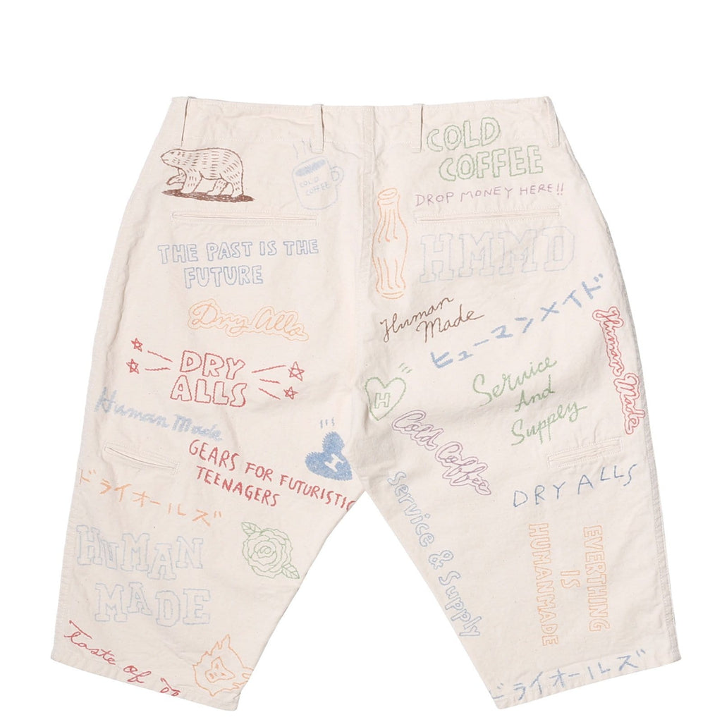 Human Made CHINO SHORTS White