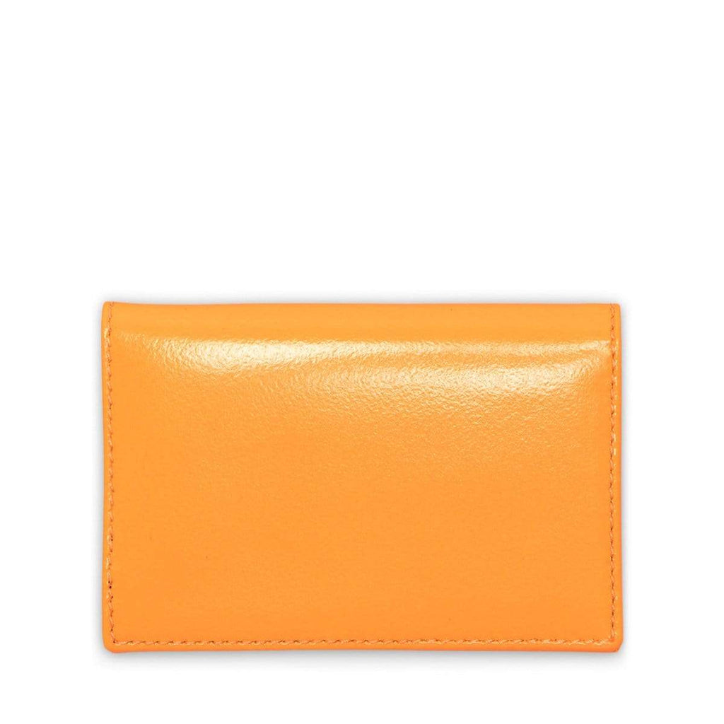Comme Des Garçons Wallet Bags & Accessories LIGHT ORANGE / O/S SUPER FLUO LEATHER