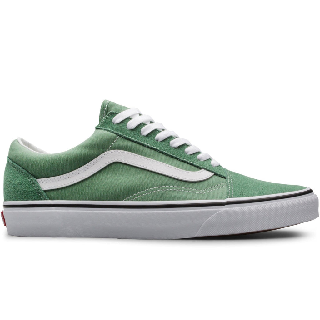 4fbbd467d1 Vans OLD SKOOL Deep Grass Green True White