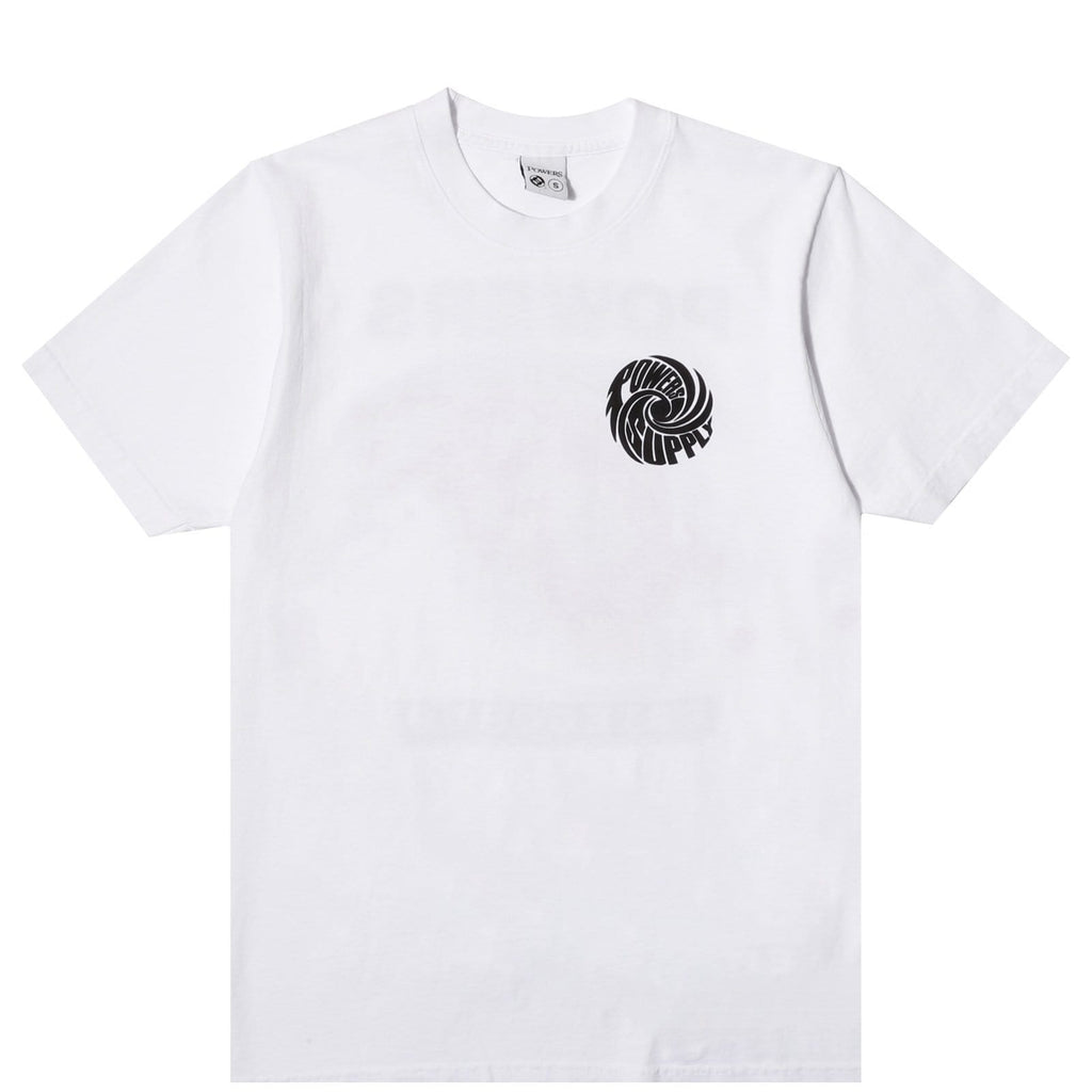 Powers HURRICANE TEE White