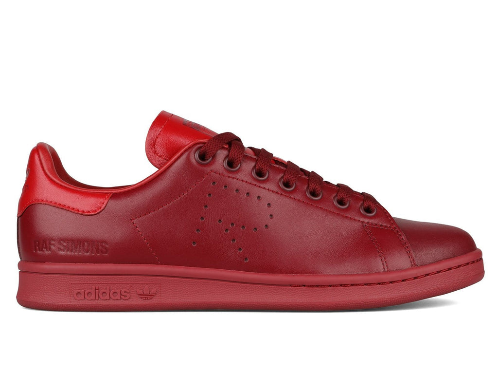 2198a513b19 Adidas x Raf Simons Stan Smith Collegiate Burgundy Power Red
