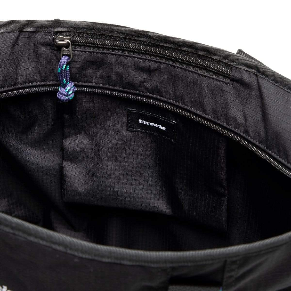 thisisneverthat Bags & Accessories BLACK / OS CORDURA® ZIP-TOP TOTE BAG