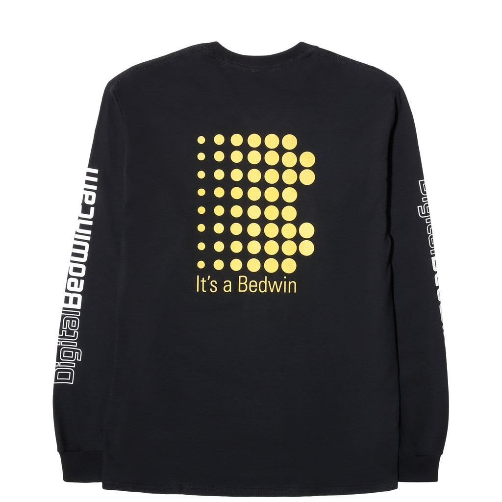 "Bedwin & the Heartbreakers L/S PRINT TEE ""KEITH"" Black"