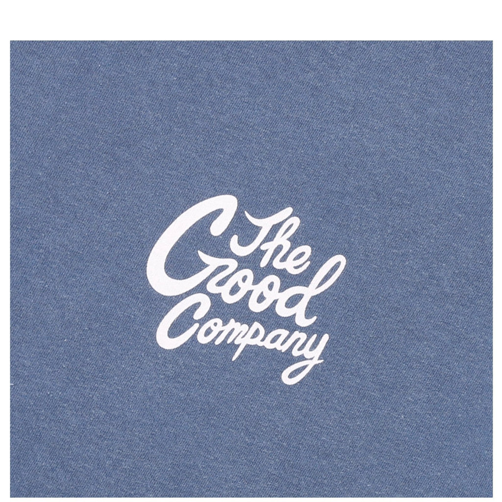 The Good Company GOOD TIME SS Blue Jean/White