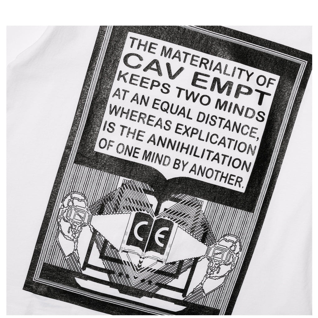 Cav Empt MD MATERIALITY T White