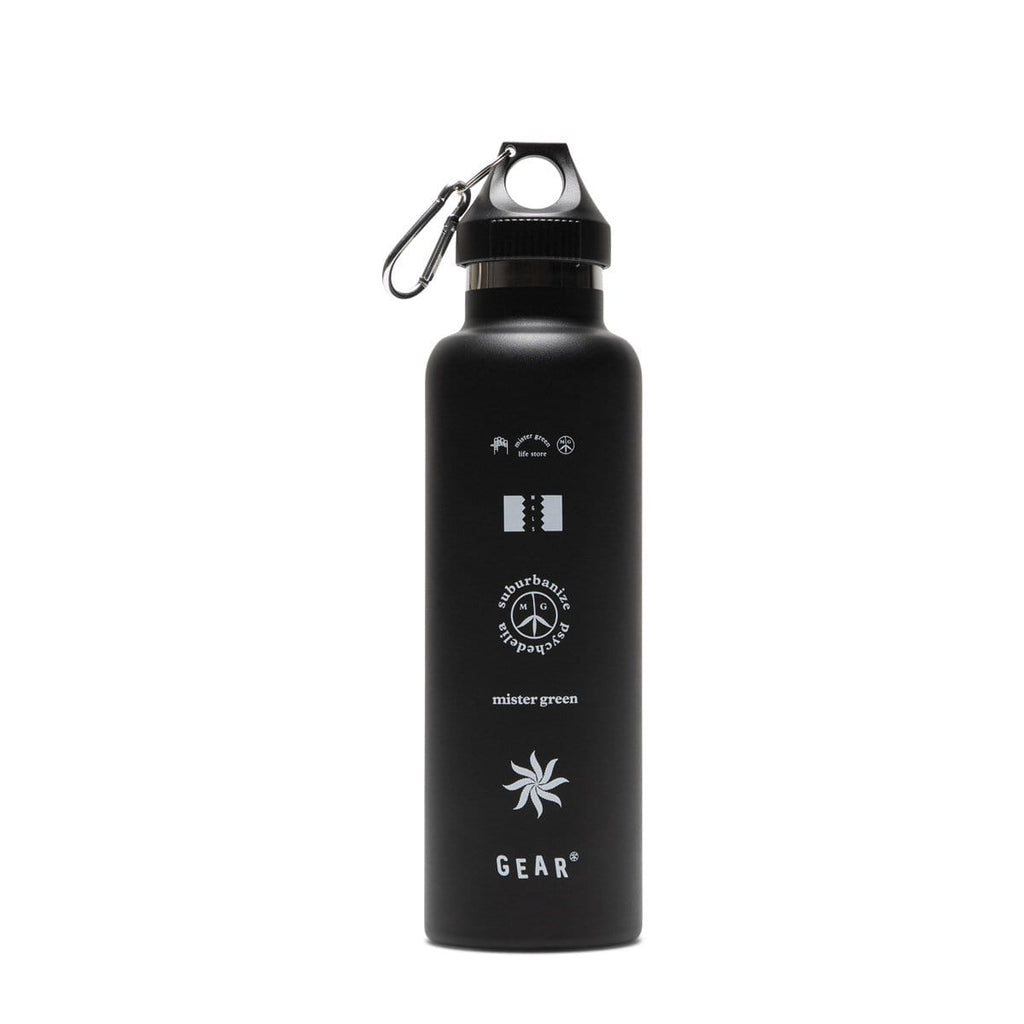 Mister Green Bags & Accessories BLACK / O/S BONG WATER FLASK