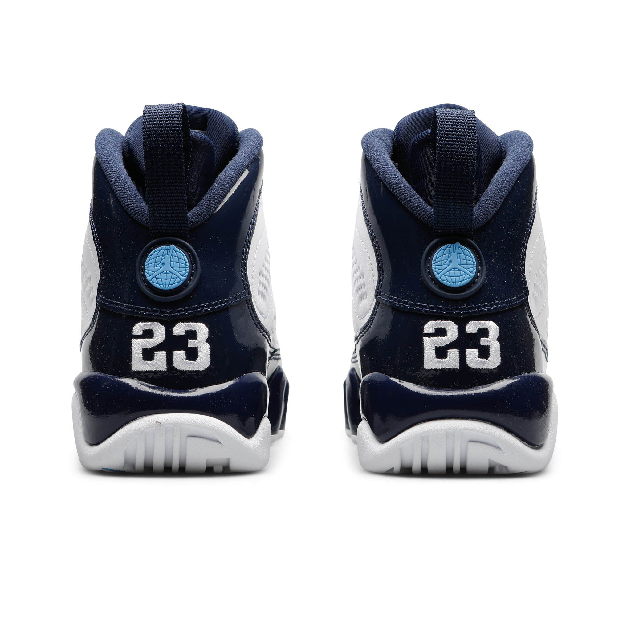 best service d478d be83c Jordan Brand AIR JORDAN 9 RETRO (Grade School) (WHITE UNIVERSITY BLUE-