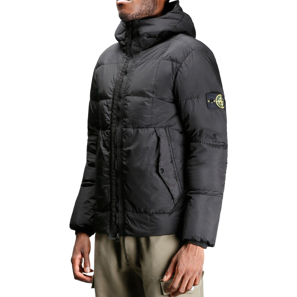 Stone Island REAL DOWN OUTERWEAR 691541223 Black