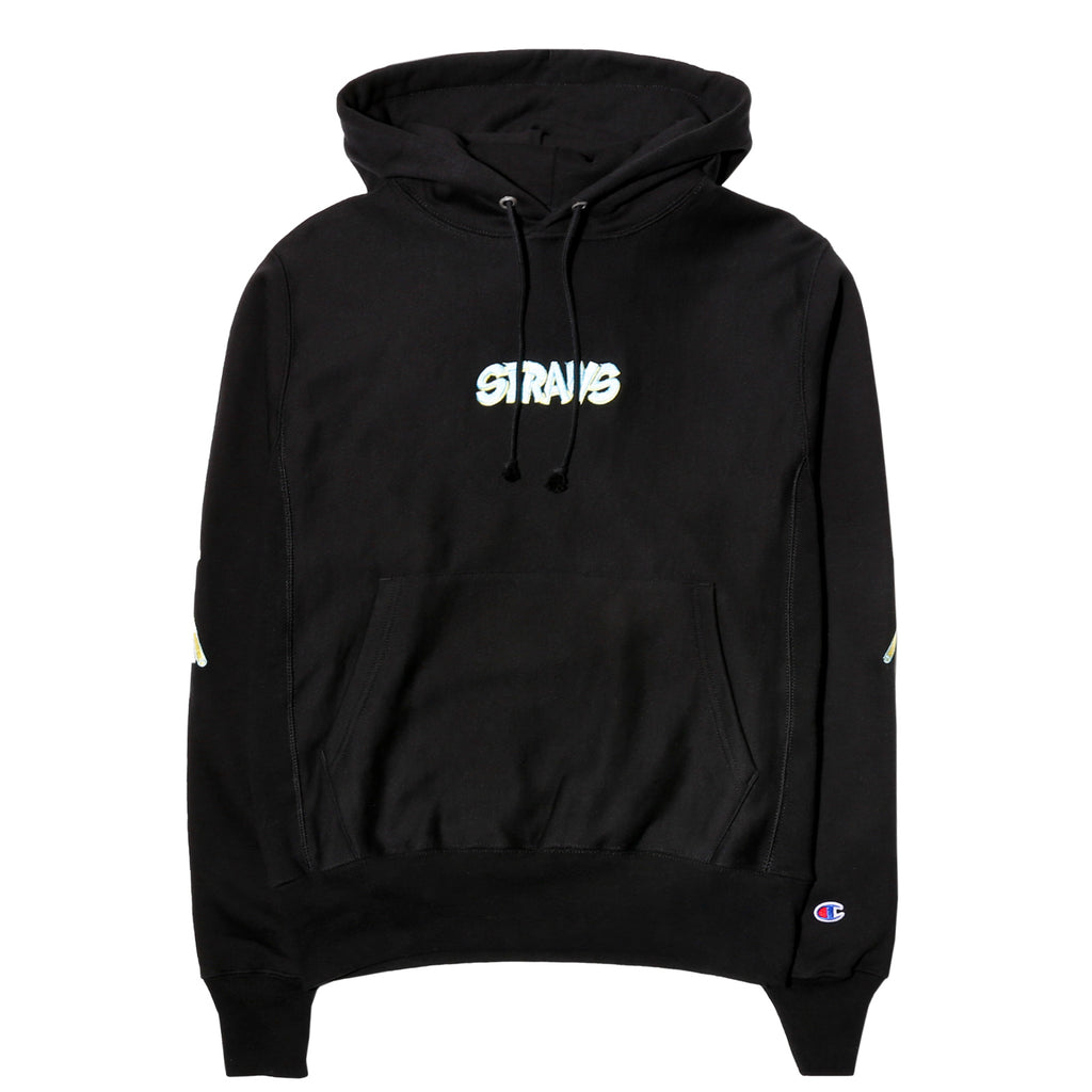 Straws VOLUME 5 HOODY Black