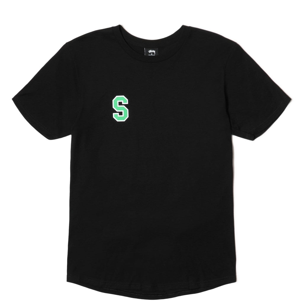 Stussy COLLEGE ARC TEE Black