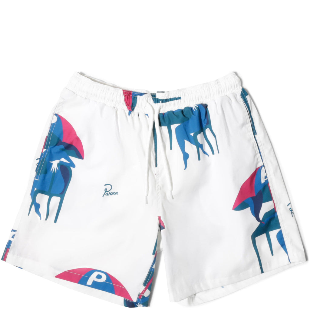 By Parra Off White Monaco Summer Trunks
