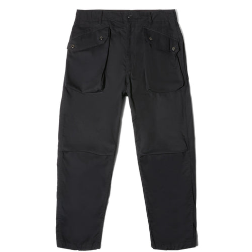 Engineered Garments NORWEGIAN PANT Black 6.5oz twill