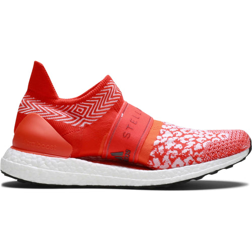 54d6e4e530e3 Adidas x Stella McCartney WOMEN S ULTRABOOST X 3D White Bold Orange Radiant  Orange
