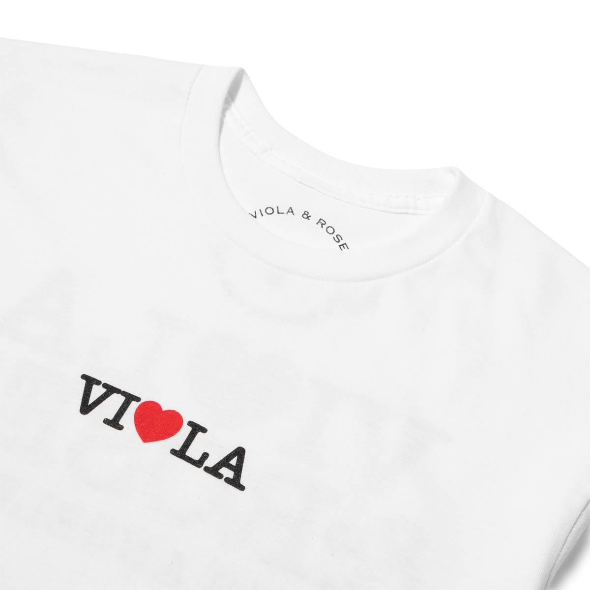 Viola and Roses T-Shirts I LOVE LA 2 S/S TEE