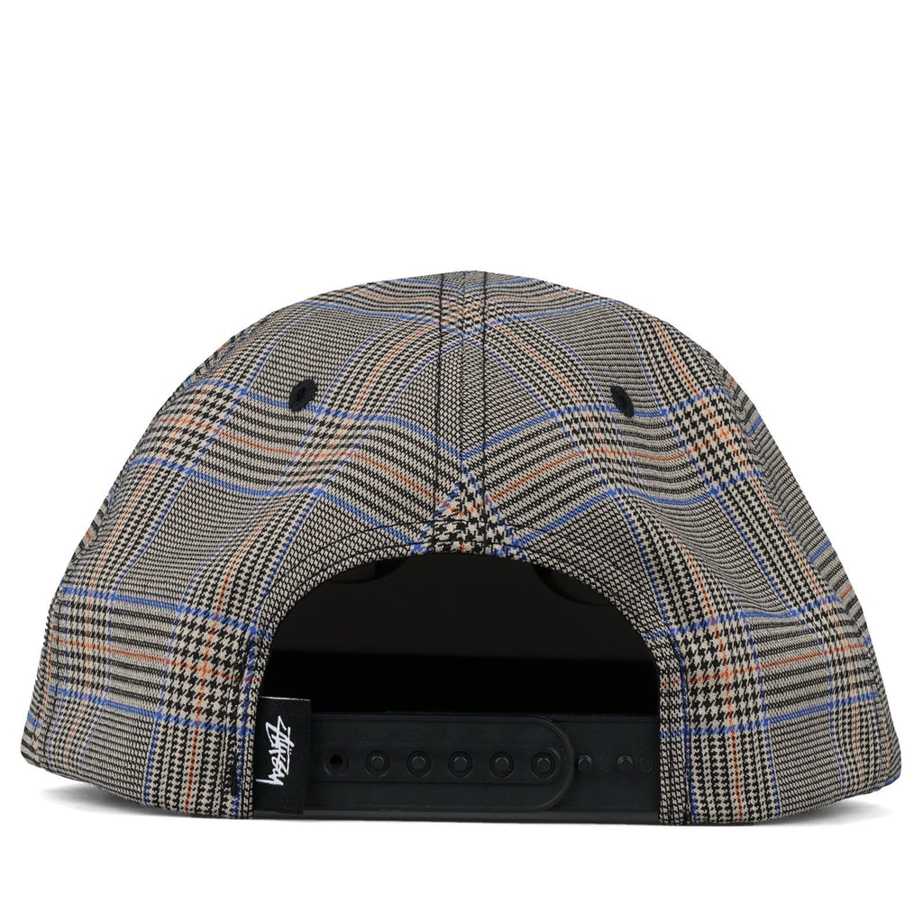Stussy GLEN PLAID CAP Tan