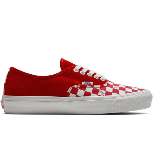 f8584fa41c Vault by Vans OG AUTHENTIC LX Racing Red Checkerboard