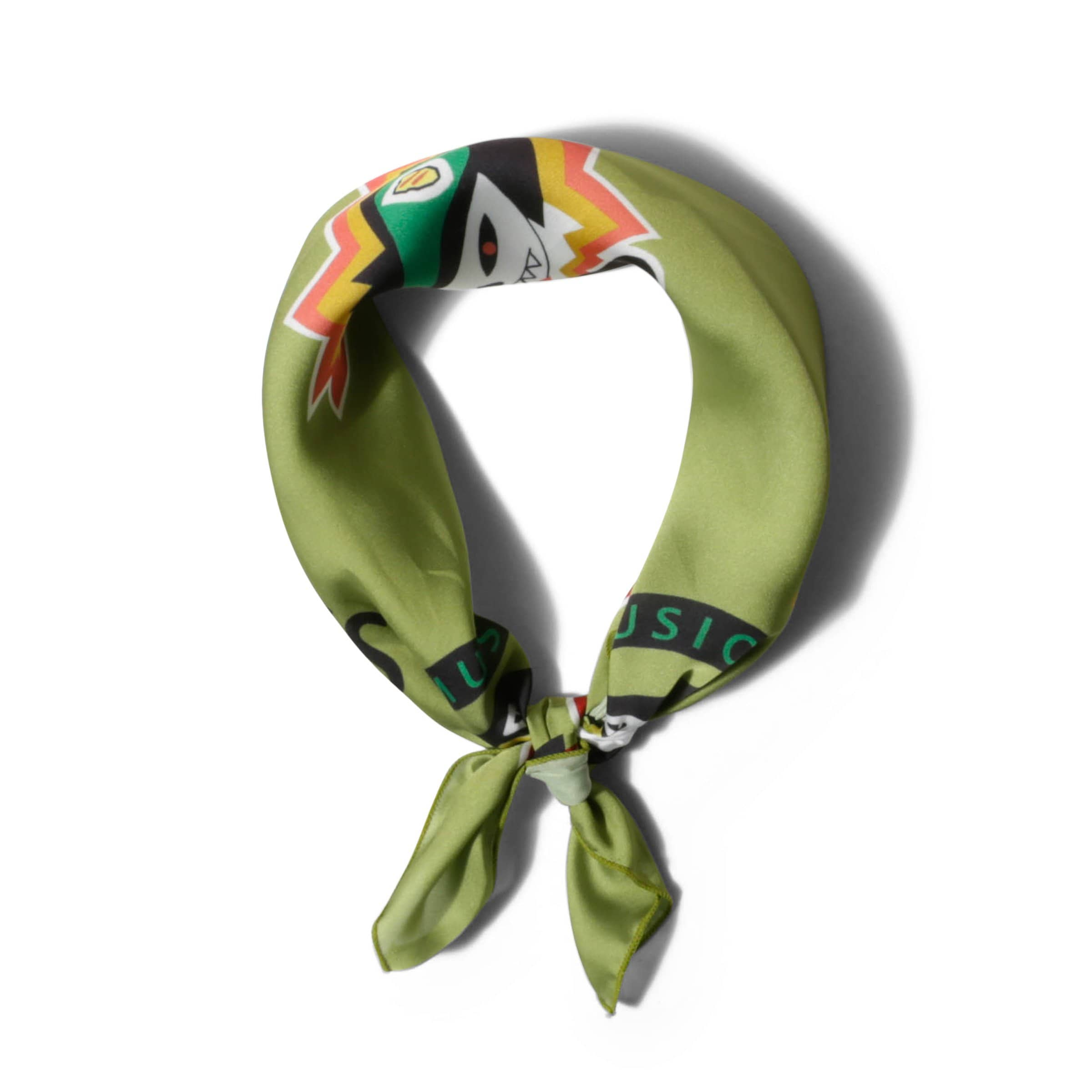 The Nerdys Bags & Accessories GREEN / O/S BANDANA SCARF