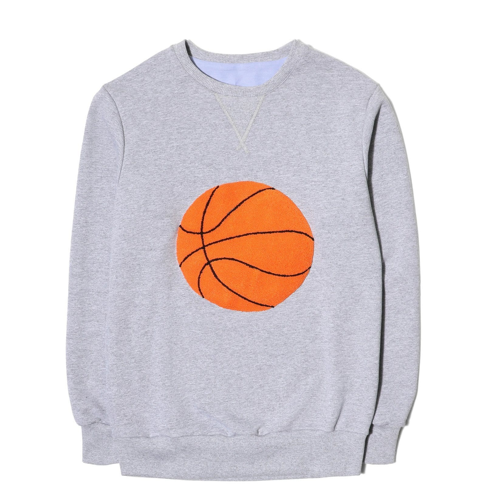 LC23 BASKETBALL BALL SWEATSHIRT Grey