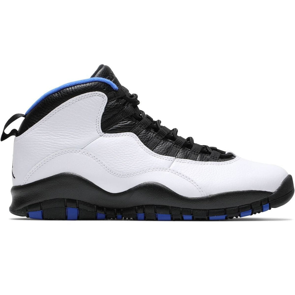 Jordan Brand AIR JORDAN 10 RETRO (WHITE/BLACK/ROYAL BLUE-METALLIC SILVER)[310805-108]