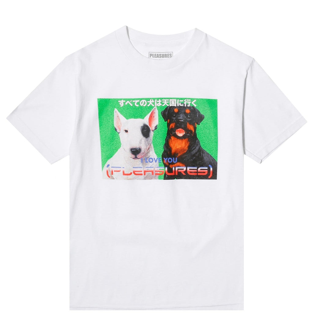 Pleasures DOGGIE STYLE T-SHIRT White
