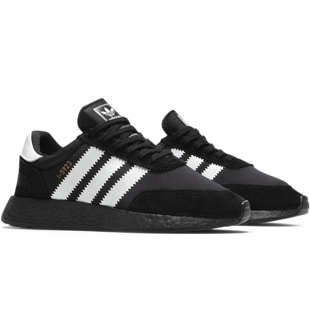 adidas Shoes CBLACK,FTWWHT,COPPMT / 8 INIKI RUNNER