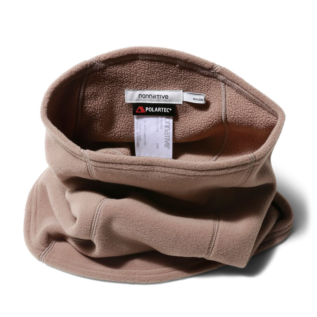 Nonnative HIKER NECK WARMER (Beige)