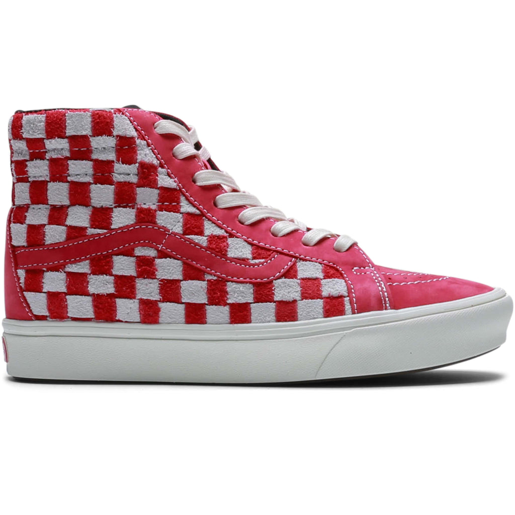 Vault by Vans COMFYCUSH SK8-HI REISSUE LX Red/Checkerboard