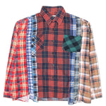 Load image into Gallery viewer, Needles Shirts ASST / L 7 CUTS FLANNEL SHIRT FW20 33