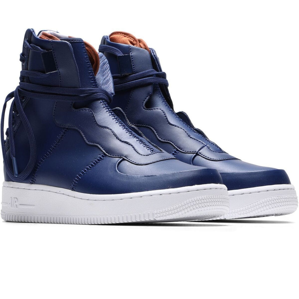 Nike AIR FORCE 1 REBEL XX (BLUE VOID/DARK RUSSET-WHITE-BLUE VOID) [AO1525-401]