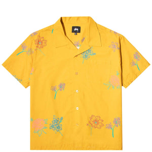 Stüssy Shirts HAND DRAWN FLOWER SHIRT