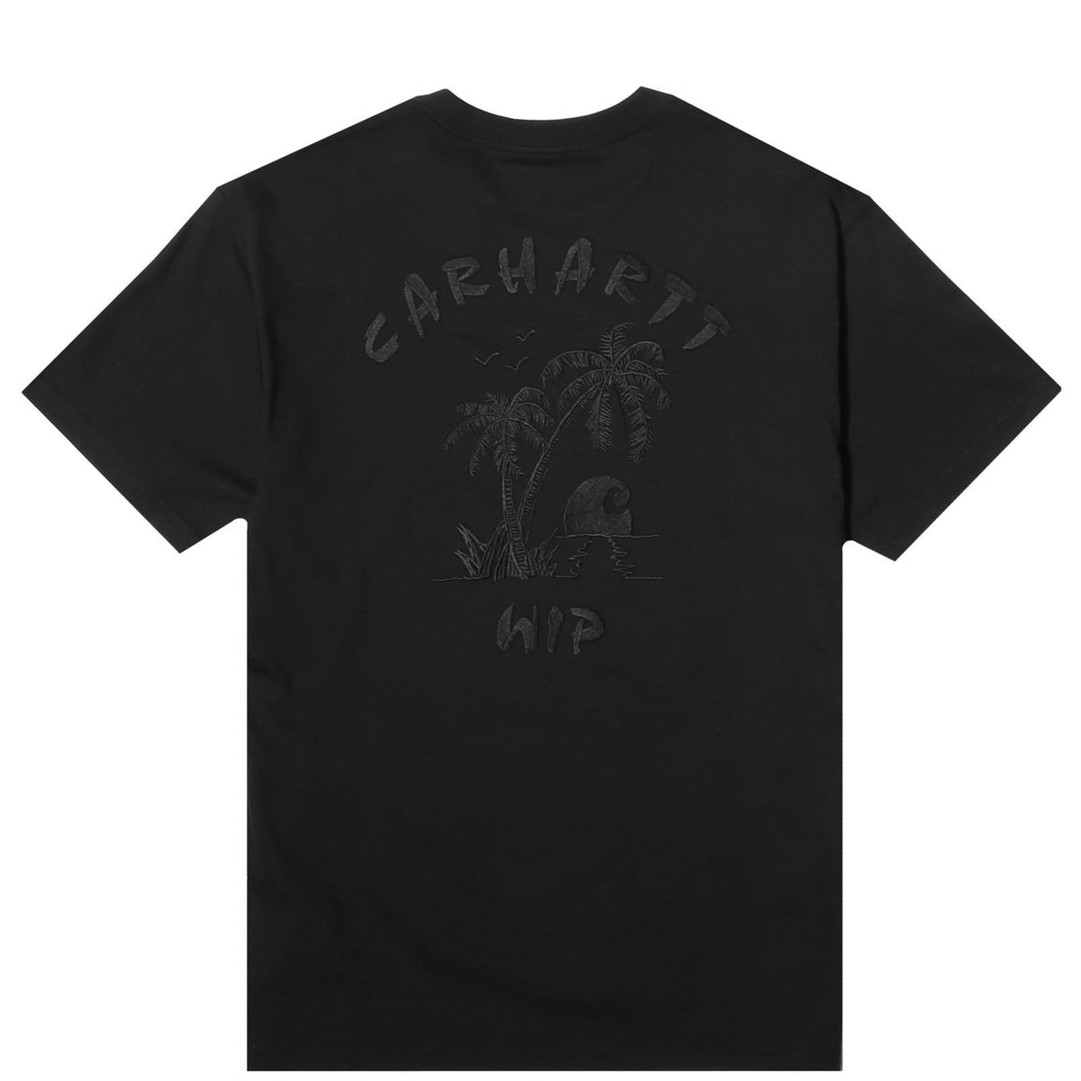Carhartt WIP S//S Souvenir Solid T-Shirt in Black