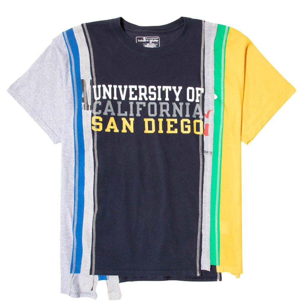 Needles T-Shirts ASSORTED / XL 7 CUTS SS TEE COLLEGE SS21 94