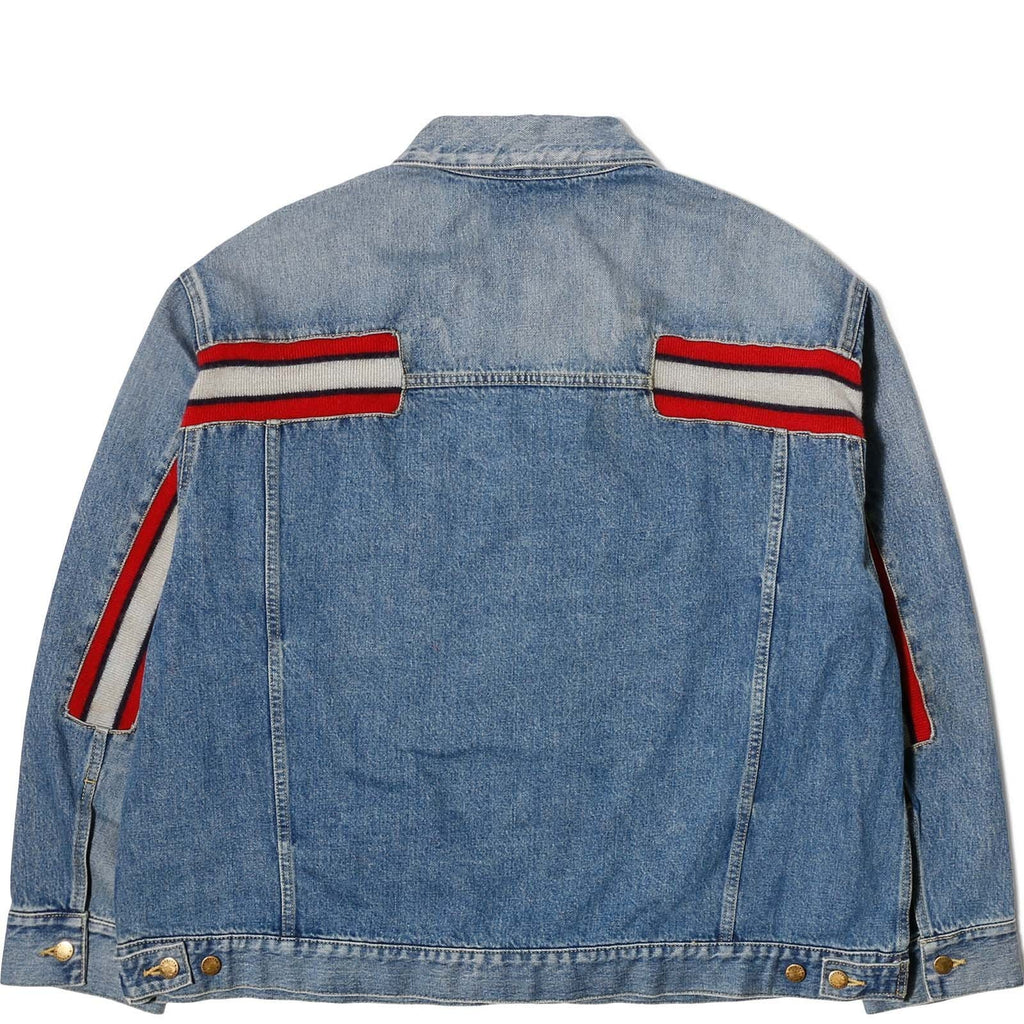 Facetasm JACKET Wash Indigo Wain