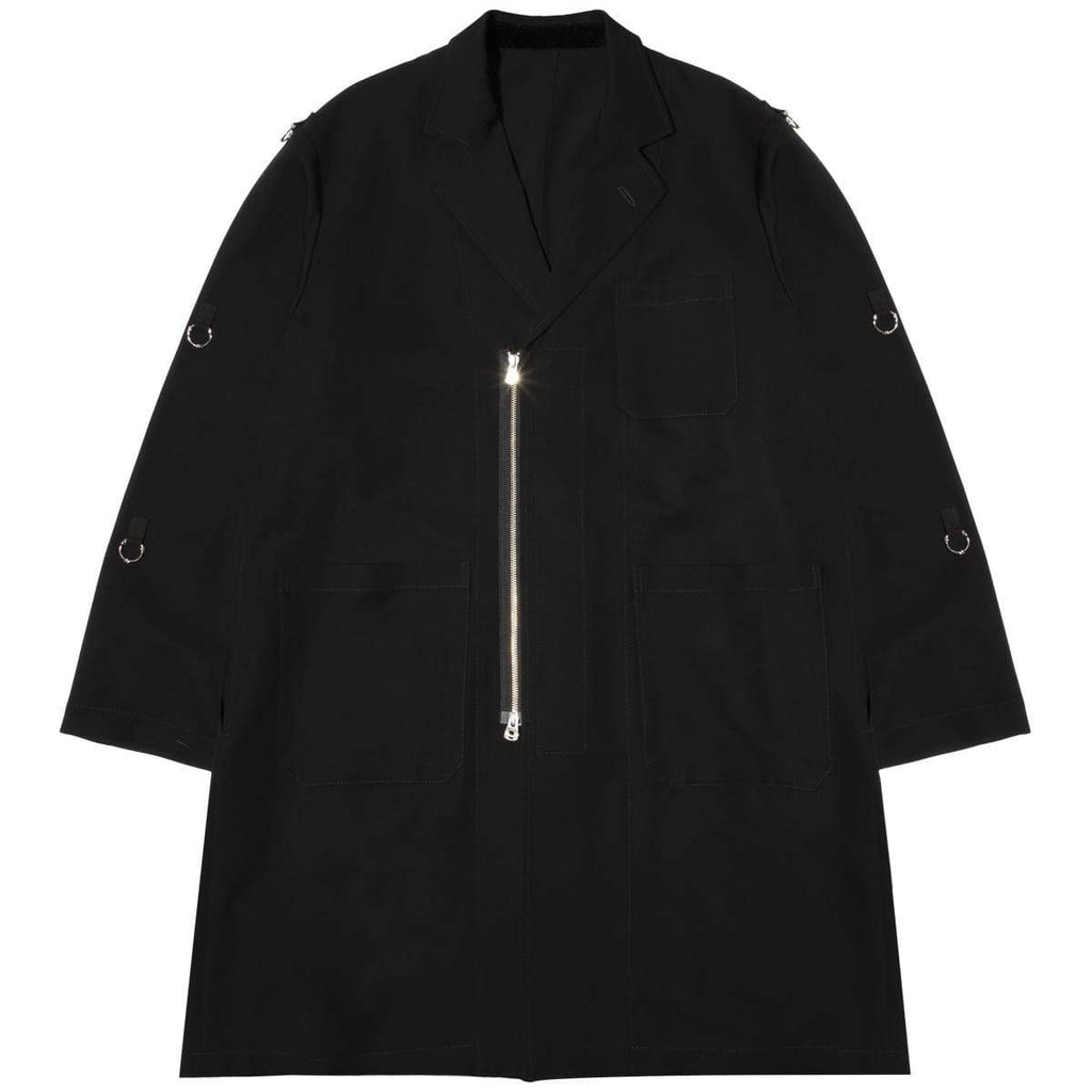 TAKAHIROMIYASHITA The Soloist. Outerwear NOTCHED LAPEL DOCTOR JACKET
