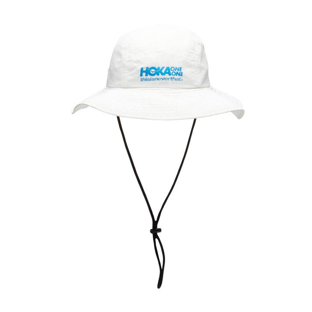 Hoka One One Headwear WHITE / O/S x thisisneverthat BUCKET HAT