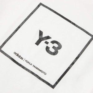 adidas Y-3 T-Shirts SQUARE LABEL GRAPHIC SS TEE