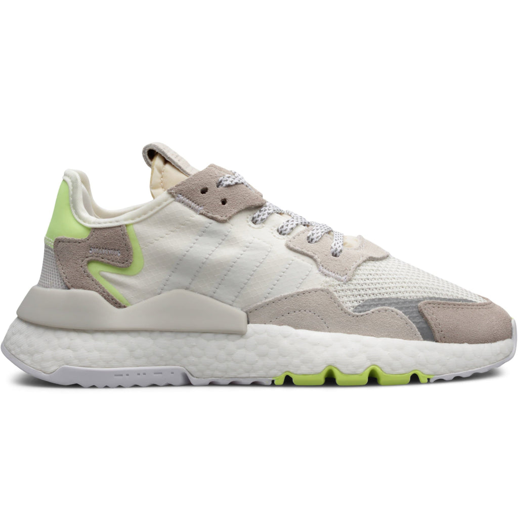 Adidas WOMEN'S NITE JOGGER Off White/Cloud White/Hi Res Yellow