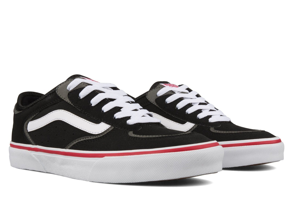 Vault by Vans UA ROWLEY CLASSIC LX Black/White/Red