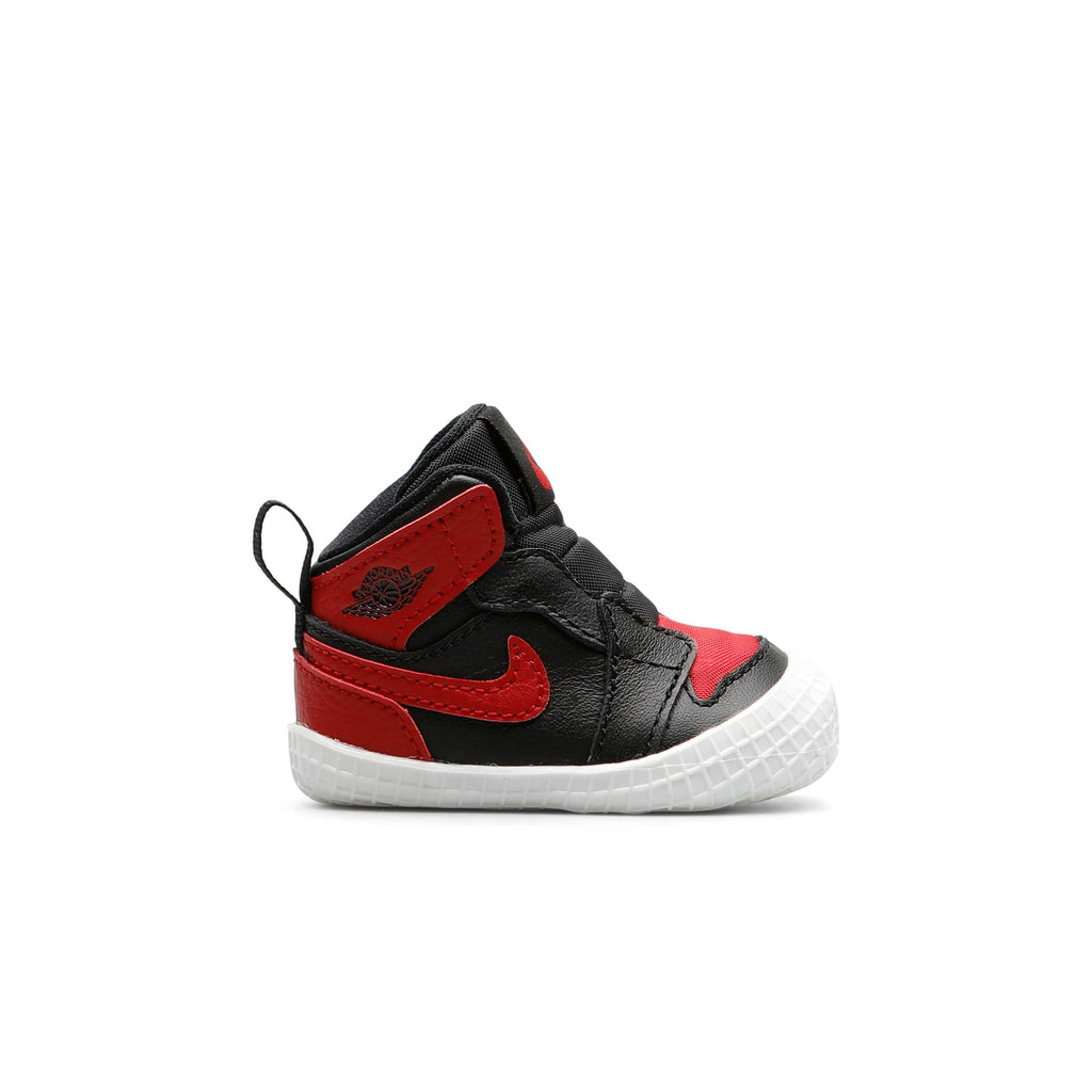 f86b3dccf51368 AIR JORDAN 1 INFANT TODDLER BOOTIE BLACK RED