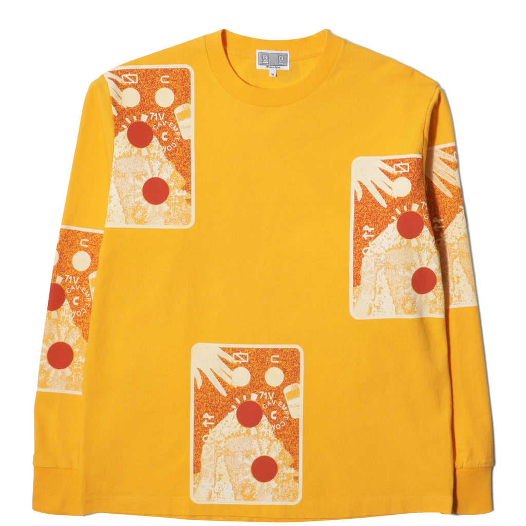 Cav Empt 71V LONG SLEEVE T Orange