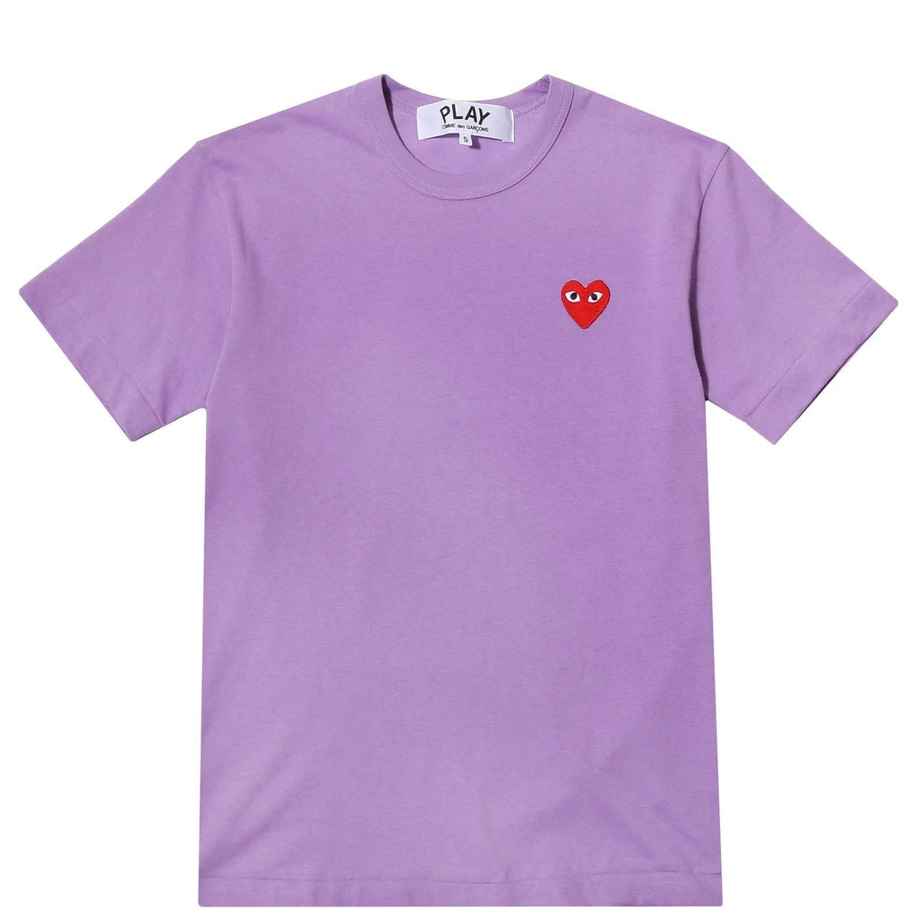 Comme des Garcons PLAY T SHIRT Purple  : new at Bodega