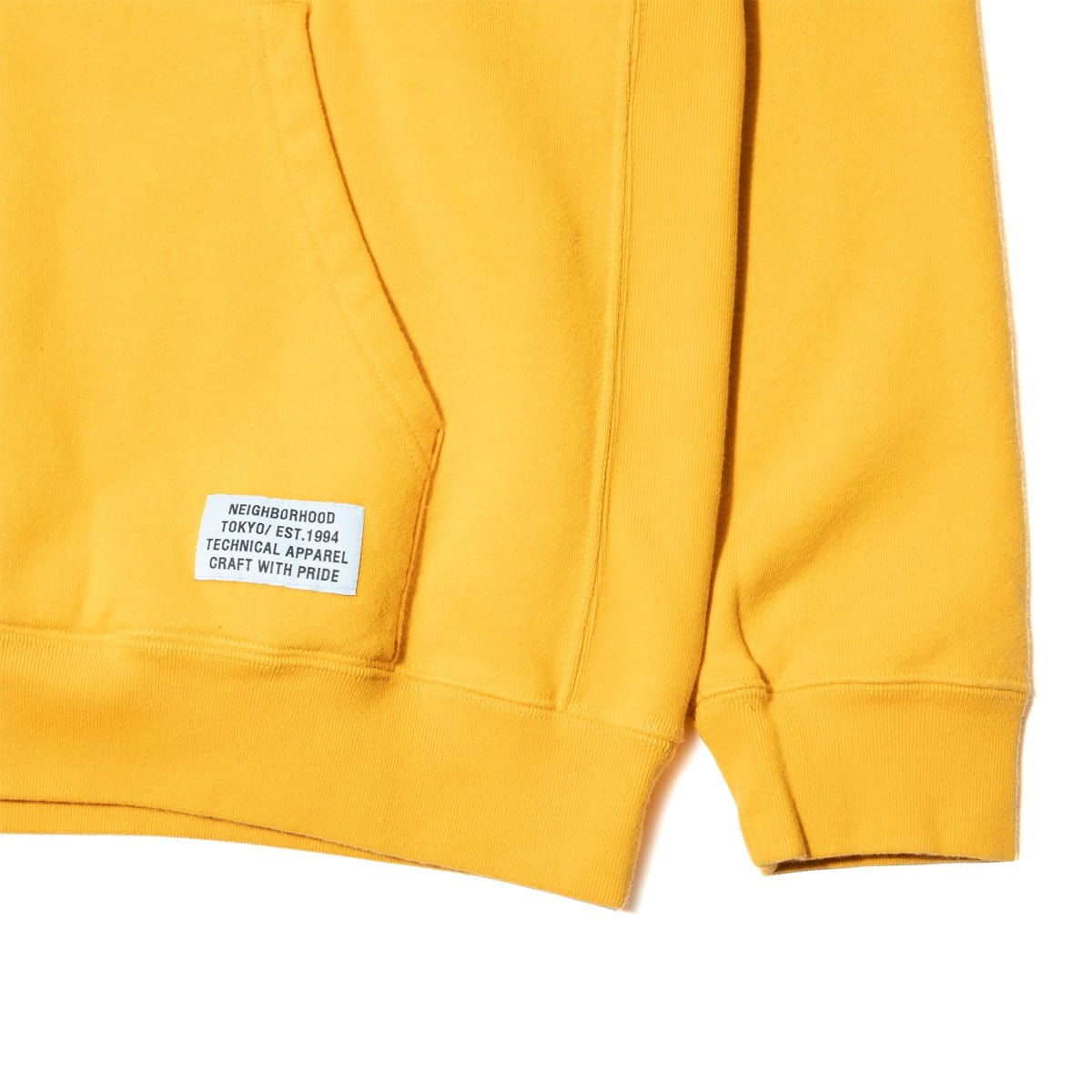 Tight C Hooded Ls Gold