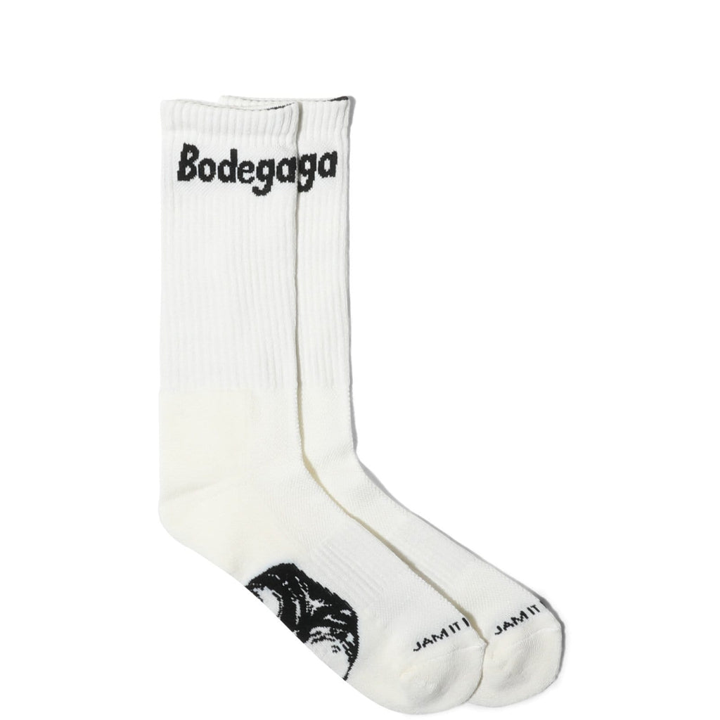 Bodega LOGO SOCKS White/Black