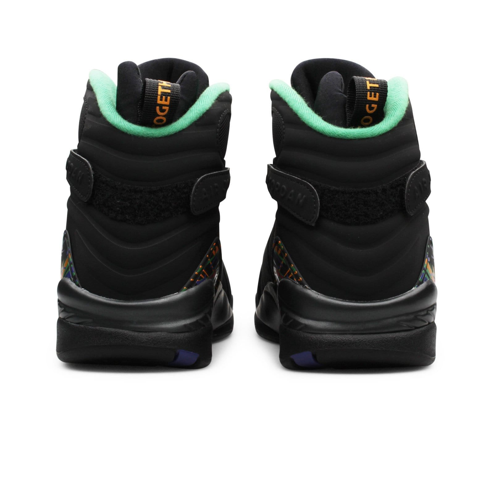 7b8e0eb532b AIR JORDAN 8 RETRO (BLACK LIGHT CONCORD-ALOE VERDE)  305381-004 ...