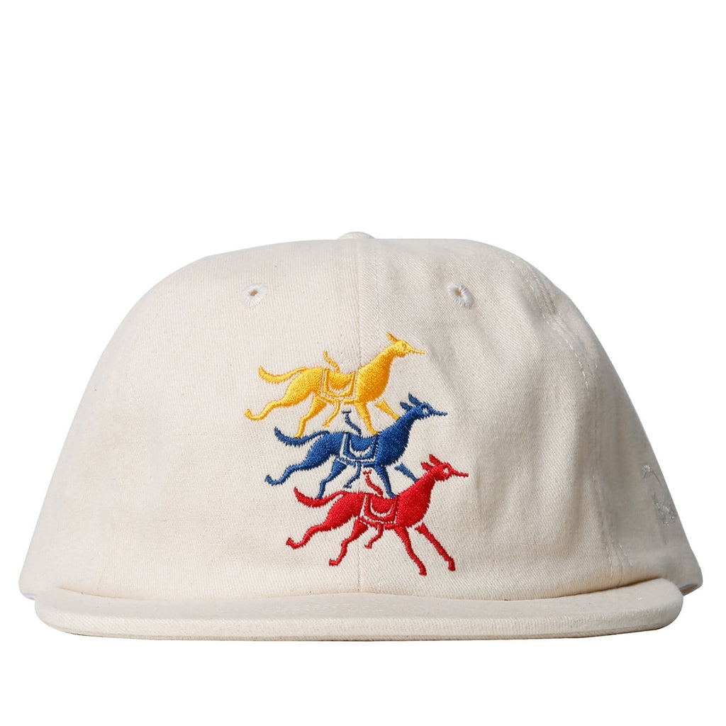 By Parra 6 PANEL HAT HORSE CLUB Natural