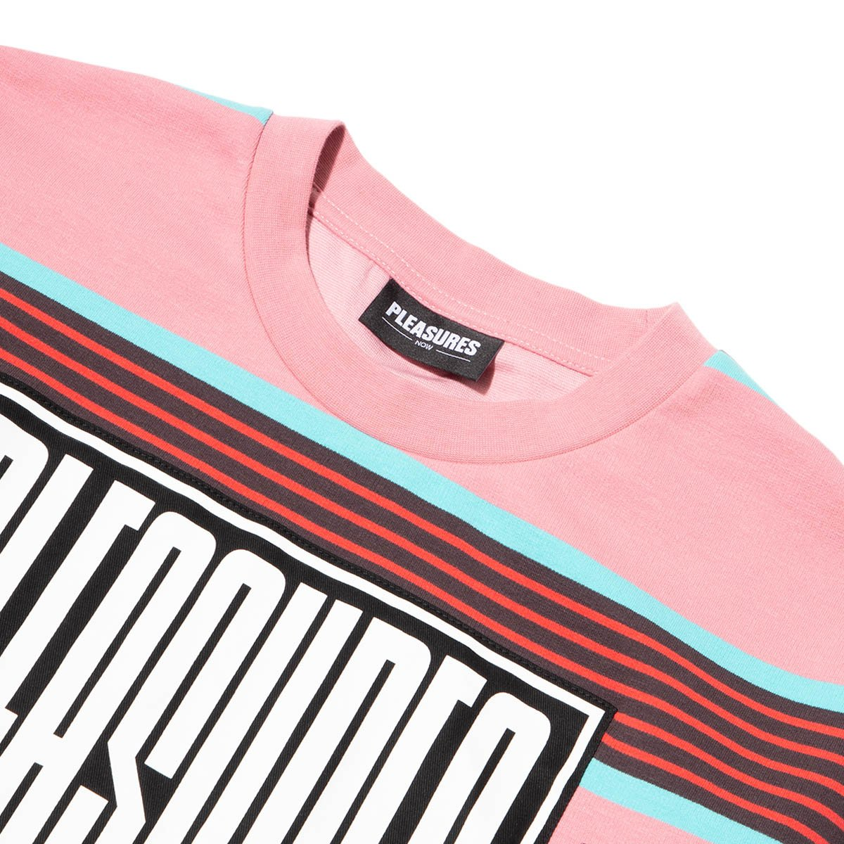Pleasures Electronic Striped Shirt Pink