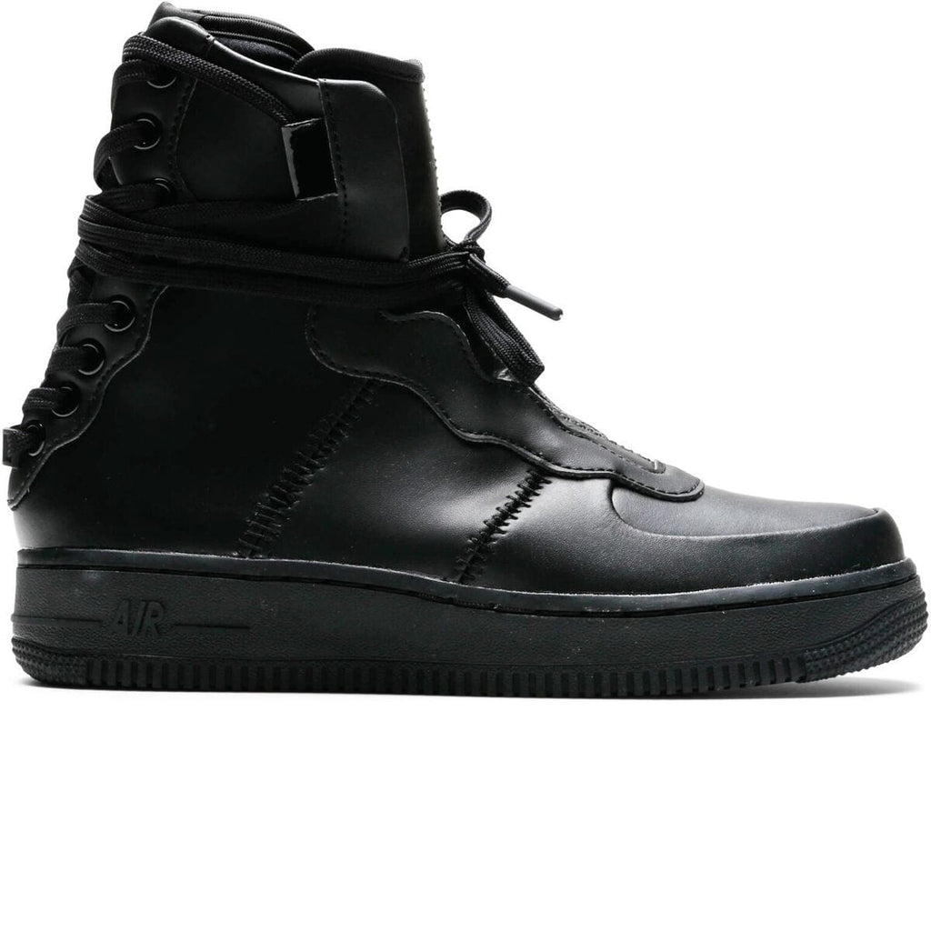 Nike AIR FORCE 1 REBEL XX (BLACK/BLACK-BLACK) [AO1525-001]