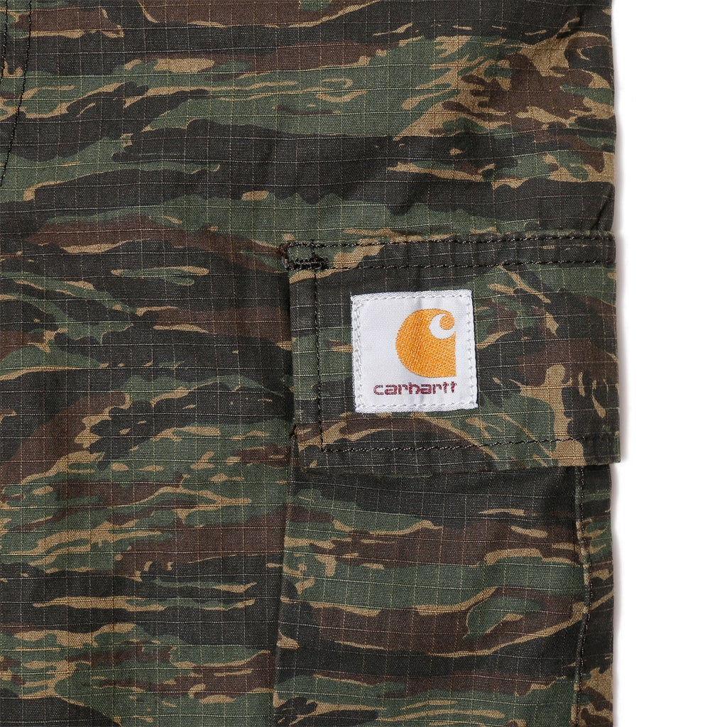 Carhartt W.I.P. REGULAR CARGO PANT Camo Tiger Jungle Rinsed
